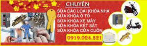 sửa khóa tại nhà - 0919024521