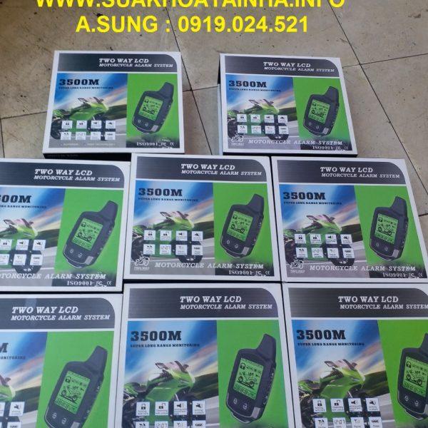 chống trộm 2 chiều LCD